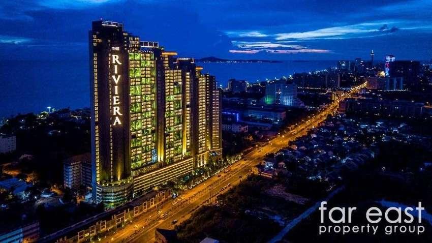 The Riviera Jomtien One Bedroom Rentals