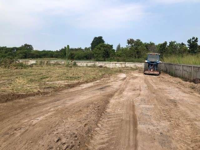 Quiet land in Hua Hin - ready to build your new house