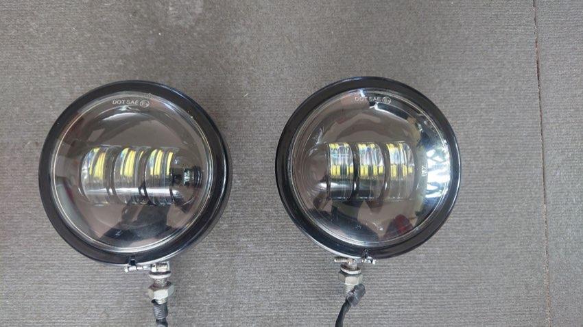 LED Passing lights Harley Davidson