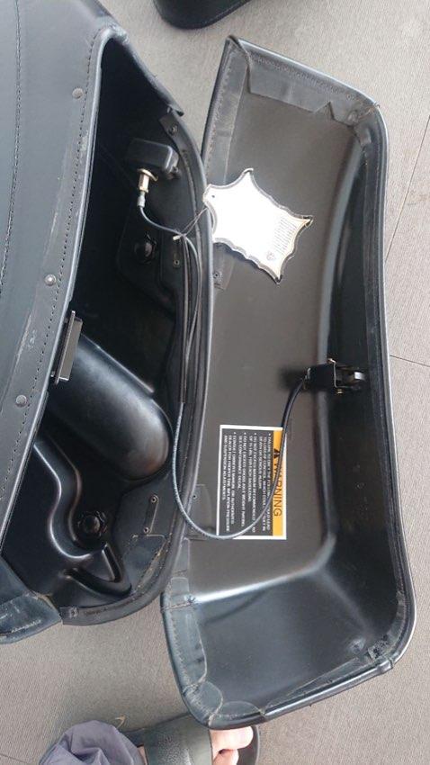 Original Harley Davidson Hard bags