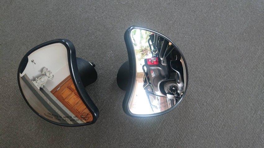 Original Street Glide mirrors