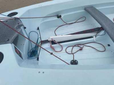 Hartley 12ft 2 man sailing dinghy