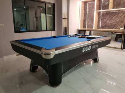 Pool table – Commander 7, 8, 9ft Black or white body + accs