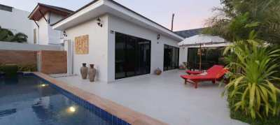 New 2 bedroom pool villa on Mae Ramphueng beach! Now 4,350,000 THB