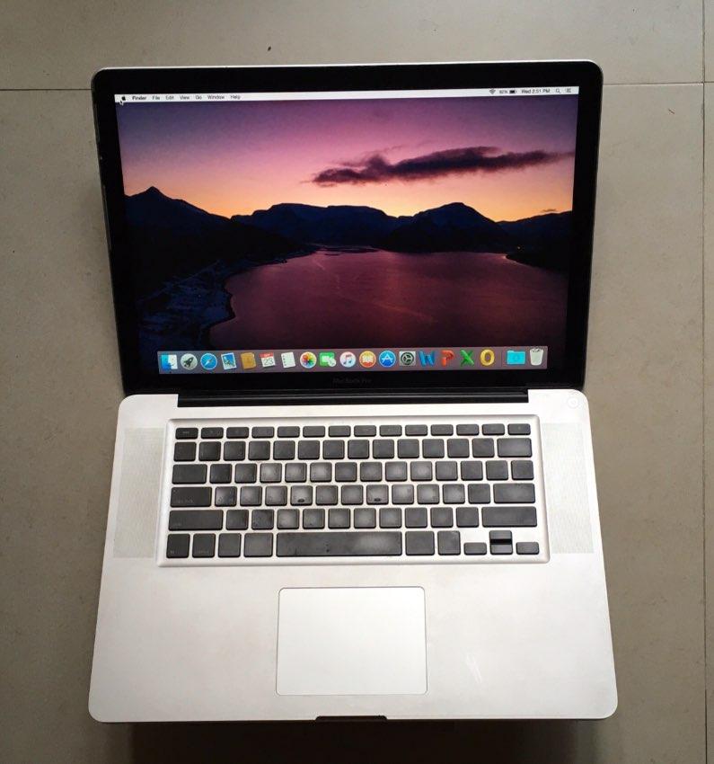 MacBook Pro 15 inch late(2008)