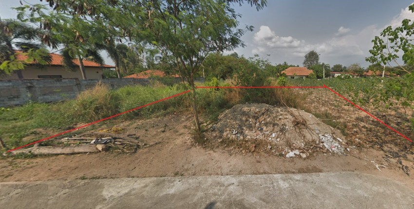 Land for sale - Pong Village - 1km Lake Mapbrachan - 200 sq.m - plot E