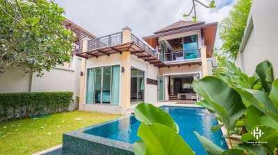 Contemporary Tropical 3-Bed Pool Villa