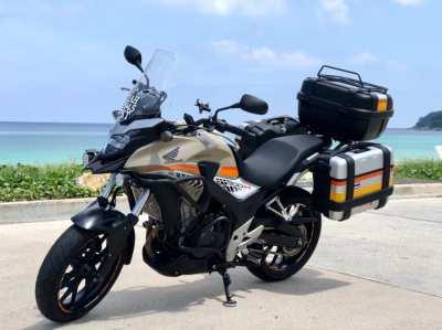 Honda cb500x GIVI BOX
