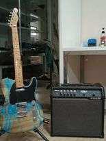 Fender Telecaster + Spider V60 amp+remote