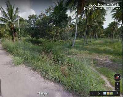 #1079  4 rai in Huay Yai Jean.  Can split