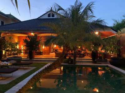 Villa Thai/Balinese with swimming pool  for sale