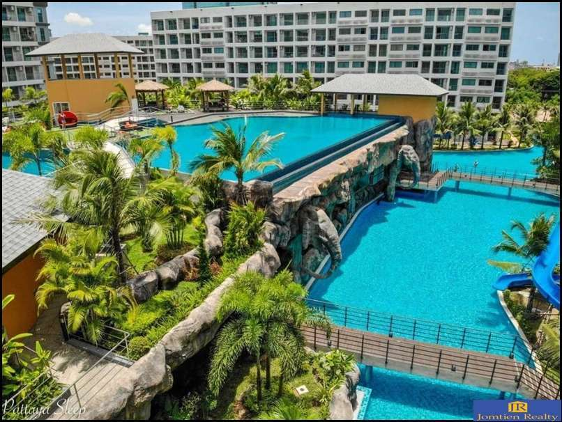 Condo Resort 1 Bed-1 Bath for Rent at Laguna Beach Maldives Jomtien