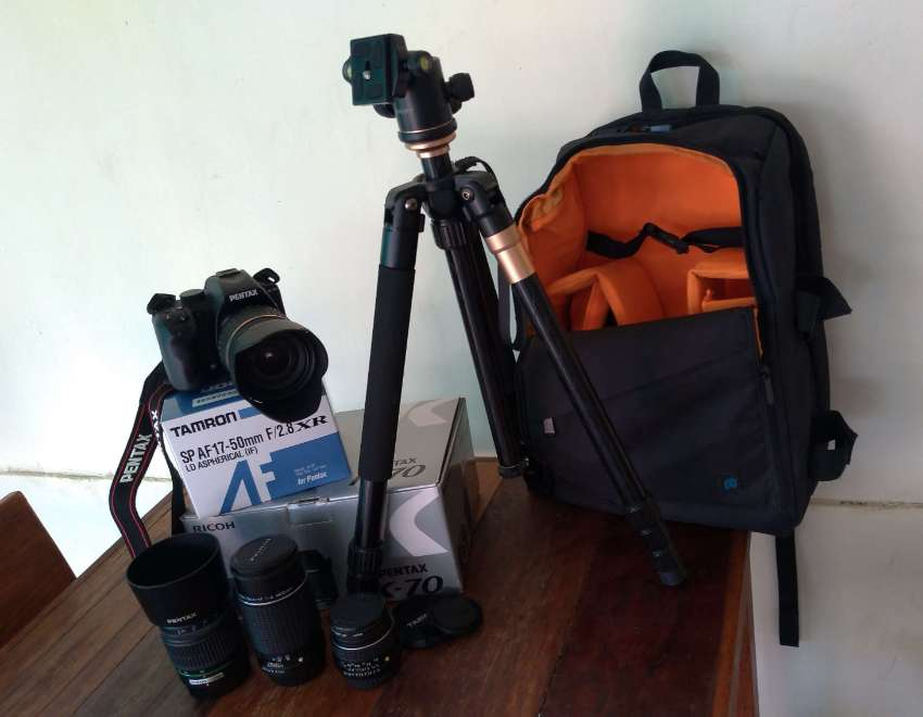 Awesome Condition Pentax K70 package