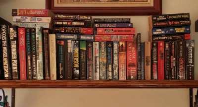 Books for sale.