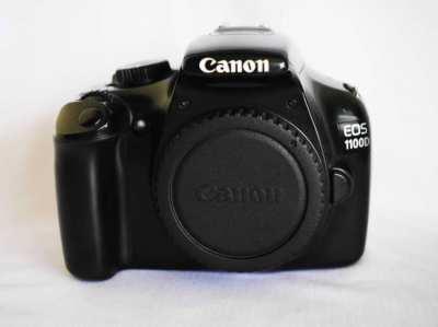 Canon EOS 1100D (Kiss X50 / Rebel T3) DSLR camera Black body only