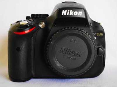 Nikon D5100 DSLR camera Black Body Digital SLR Camera