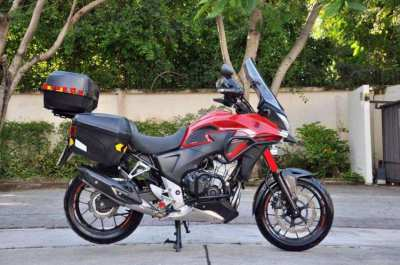 CB500X Full Touring Package!