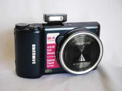 Samsung Smart Camera WB200F Wi-Fi Dark Blue