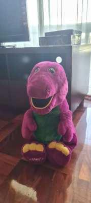 Big size Barney stuffed toy
