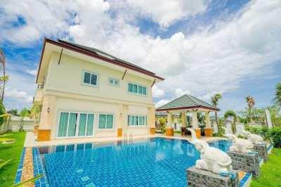 Quality beautiful pool villa for sale