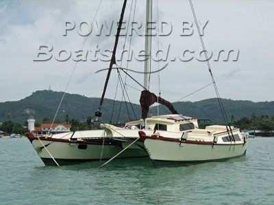 Tiki 30 Catamaran for sale