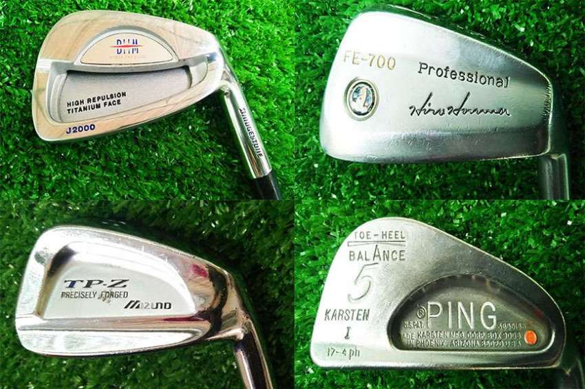 Used single golf clubs for sale, FREE delivery nationwide