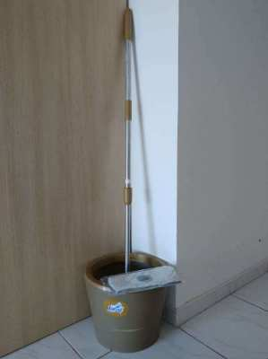 CLEANING SET SPIN BUCKET+MOP FARCENT