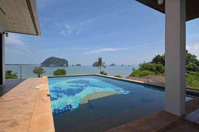 Completely Panoramic Ocean-View Villa for Sale, Krabi