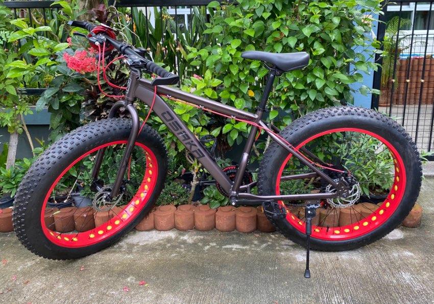 Big wheel bike