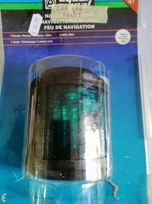 Navigation Lights - Aqua Signal Series 41 P+S