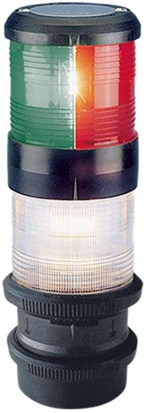 Navigation Light - Aqua Signal Series 41 Masthead Tri colour+anchor