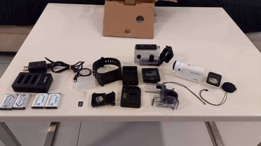 Sony 4K FDR-X3000 Action Cam with Optical Stabilization, Wi-Fi & GPS