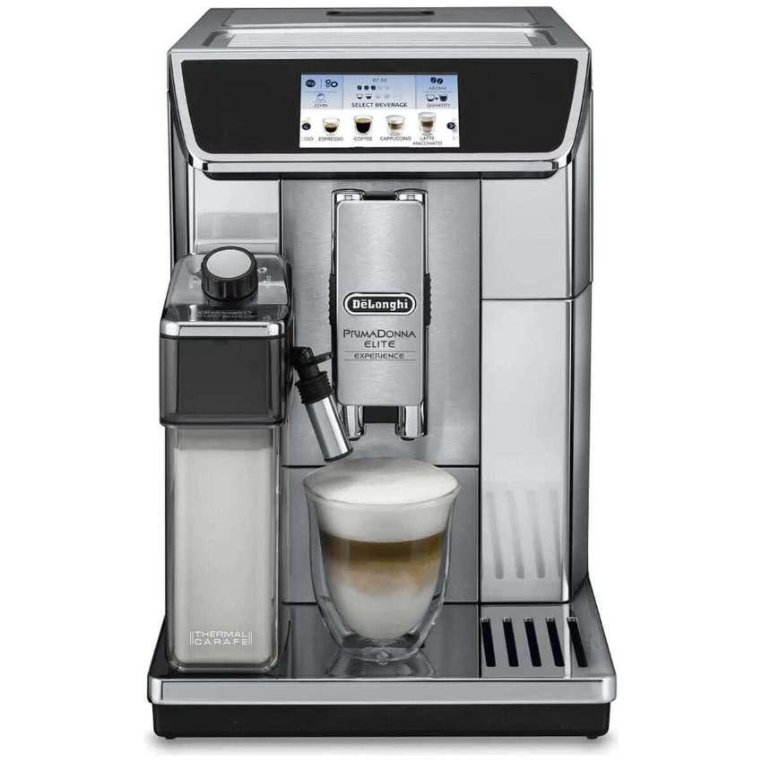 Delonghi PrimaDonna Elite Experience Coffee Machine ECAM65085MS