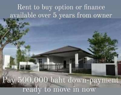 NEW HOUSE IN HUAY YAI WITH FINANCE AVAILABLE OVER 5 YEARS