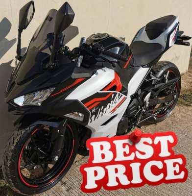 02/2020 Kawasaki Ninja 400 124.900 ฿ Finance by shop