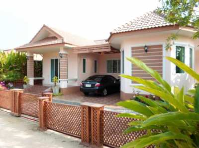3 bedroom house close to Suan Son beach and Ban Phe. 3,600,000 THB