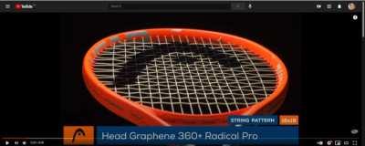 brand new Head Graphene 360+ Radical S 280 g