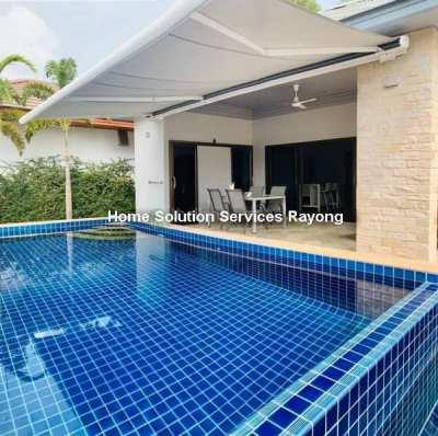 Attractive 2 bedroom pool villa - 450 meters from Mae Ramphueng beach