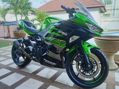 2019 Kawasaki ninja 400cc (ABS)