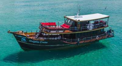 Classic wooden Tourboat for 80 passengers