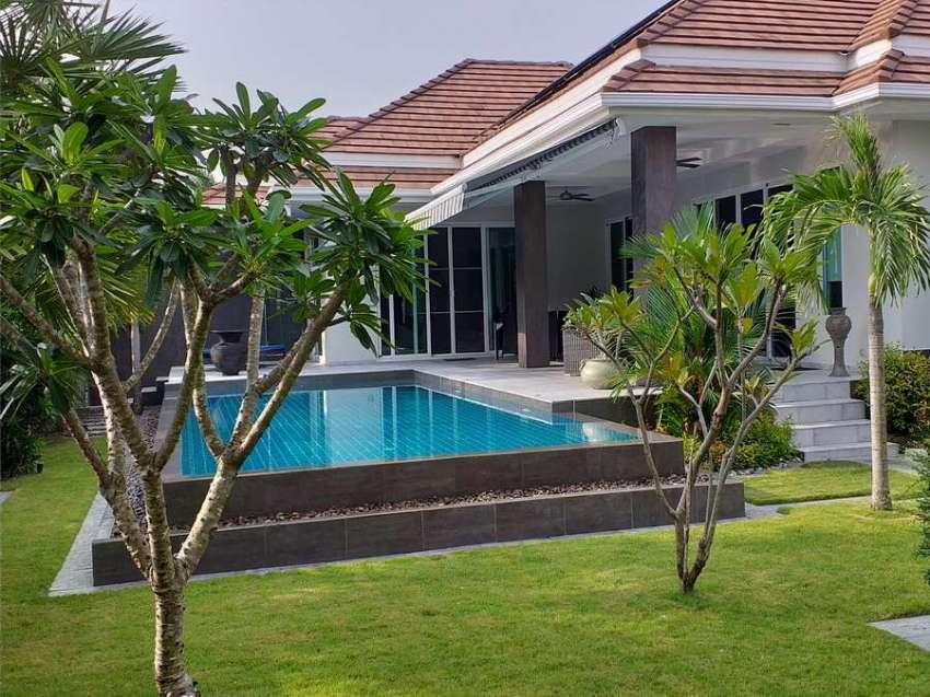 Reduced modern designer pool villa Hua hin for sale