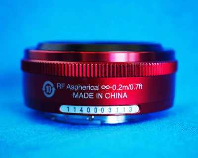 Nikon 1 Nikkor 10mm f/2.8 Prime Wide Angle Red Lens, 10mm f2.8