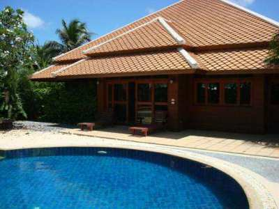 House with commercial land sale