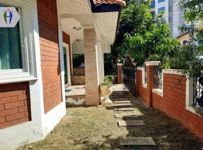 Single House 55 sqw modern style. For rent Pattaya Close to Pratumnak