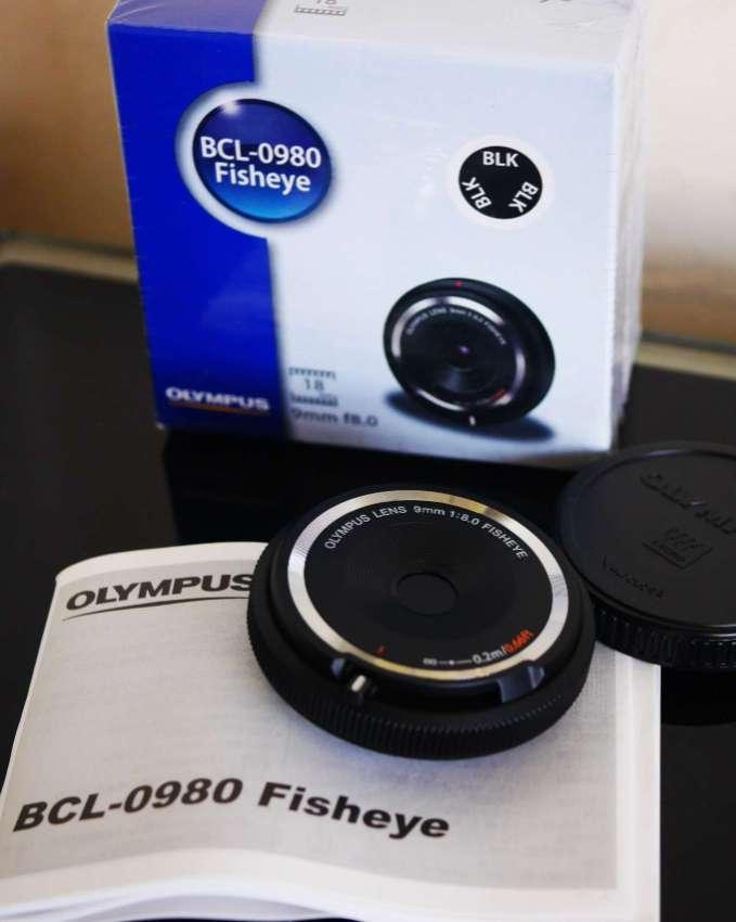 Olympus BCL-1580 15mm F8, Fisheye 9mm F8.0  Lenses