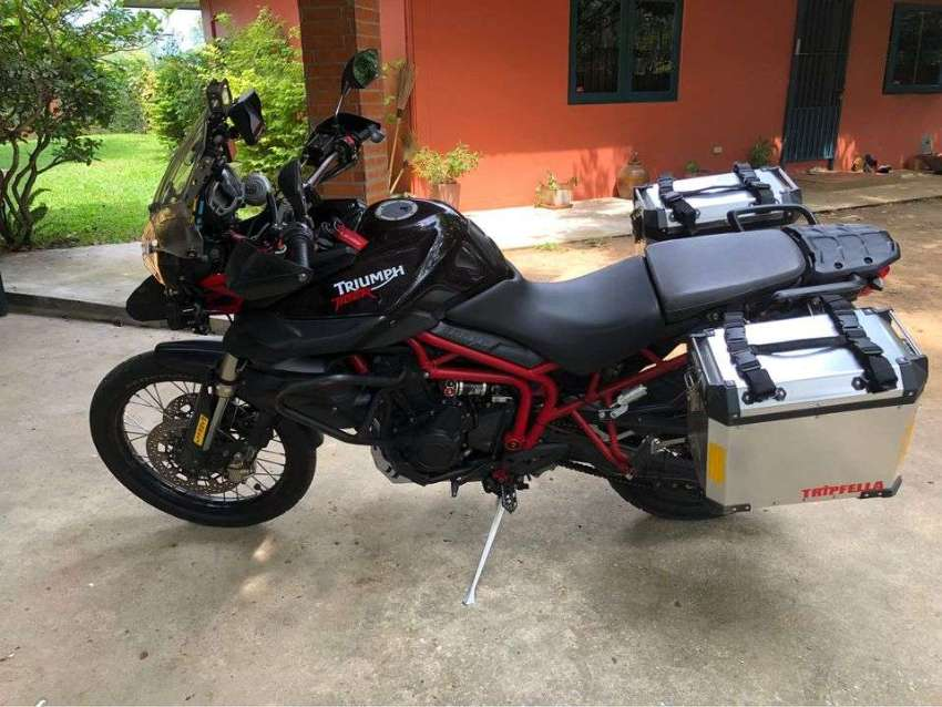 Triumph Tiger800 XC Sell or trade in for For Royal Enfield Interceptor
