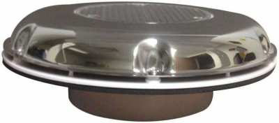 Solar powered ventilator ,4inch with SS cowl