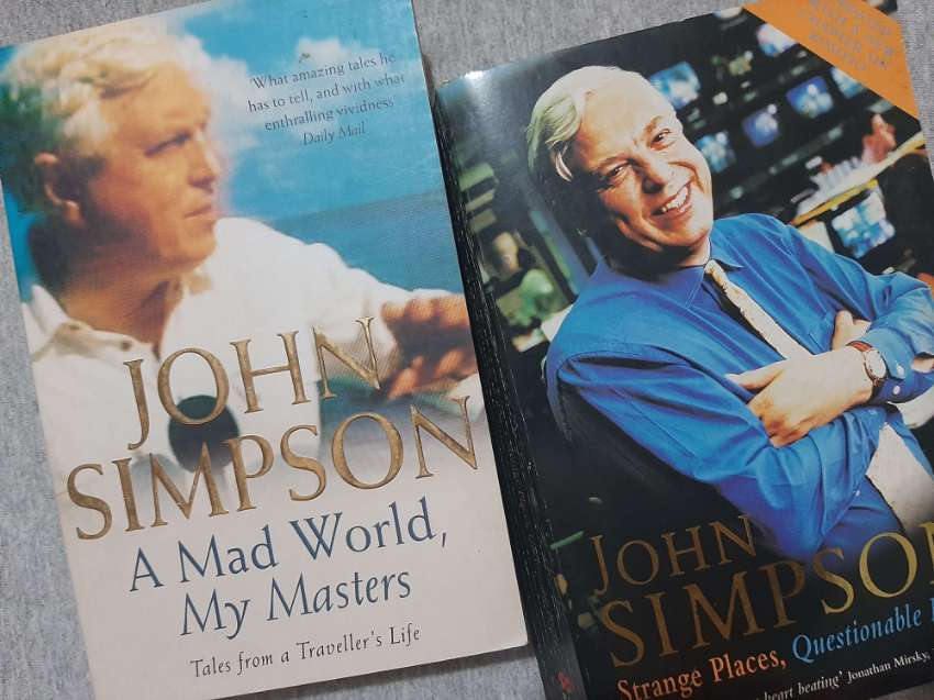 John Simpson - A Mad World, My Masters / Strange Places, Questionable