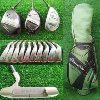 Full set of Mizuno pro golf clubs in bag, FREE shipping