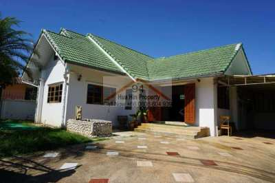 Hua Hin Soi 102 Location with lots of potential, Restaurant, Spa, etc